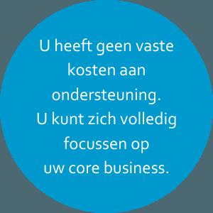 BureauBekwaam geen vaste kosten
